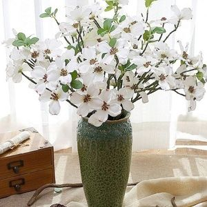 Other - New 4PCS Artificial Dogwood Blossom Silk Flowers B